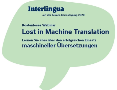 """Lost in Machine Translation"" – Unser Webinar ist online"